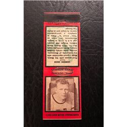 DIAMOND MATCH CO. NYC VERNON OECH CHICAGO BEARS MATCH BOOK