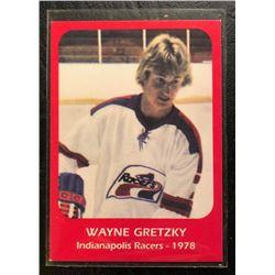 WAYNE GRETZKY INDIANAPOLIS RACERS CARD