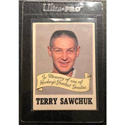 1970-71 O-Pee-Chee #231 Terry Sawchuk Memorial