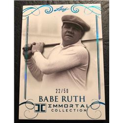 2017 LEAF IMMORTAL LCOLLECTION BABE RUTH 23/50