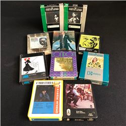 8 TRACK TAPES LOT