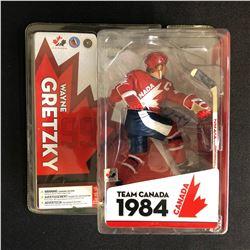 WAYNE GRETZKY SIGNED TEAM CANADA 1984 MCFARLANE