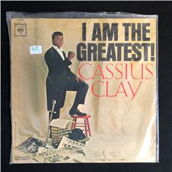I AM THE GREATEST CASSIUS CLAY VINYL LP MINT CONDITION
