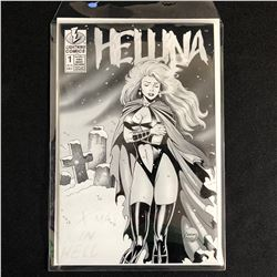 HELLINA: X-MAS IN HELL #1 PLATINUM EDITION (LIGHTNING COMICS)
