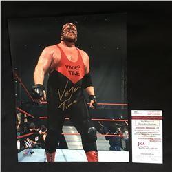 """VADOR SIGNED 8 X 10 WWF PHOTO """" VADOR TIME"""" JSA COA"""