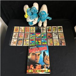 TOY AND CARD COLLECTOR LOT