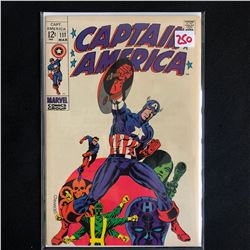 CAPTAIN AMERICA #111 (MARVEL COMICS)