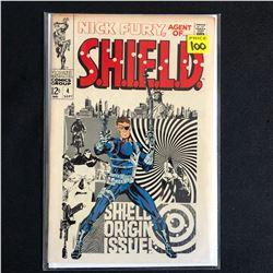 NICK FURY AGENT OF SHIELD #4 (MARVEL COMICS)