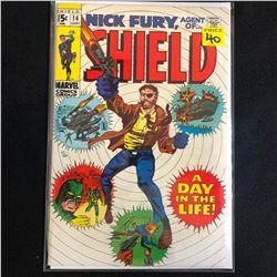 NICK FURY AGENT OF SHIELD #14 (MARVEL COMICS)