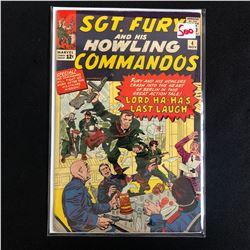 SGT. FURY & HIS HOWLING COMMANDOS #4 (MARVEL COMICS)
