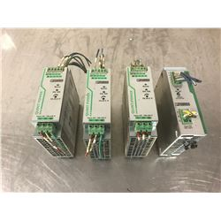 LOT OF PHOENIX CONTACT POWER SUPPLIES