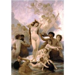 William Bouguereau - The Birth of Venus