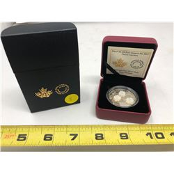 2017 $20.00 Fine Silver Coin - Pearl Flowers