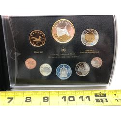 2010 92.5 oz Silver Proof Set - Corvette Selective Gold-plated Dollar