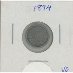 1894 Canada Five Cent Coin