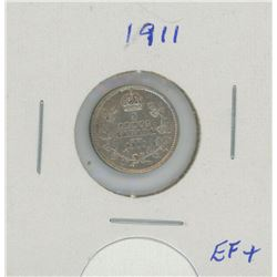 1911 Canada Five Cent Coin