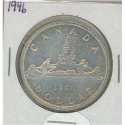 1946 Canada Silver Dollar