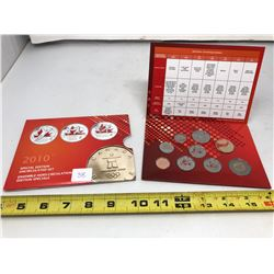 2010 Canada Eleven Coin Olympic Special Edition Uncirculated Set