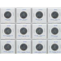 2000 Twenty-Five Cent Millennium Commemorative Set
