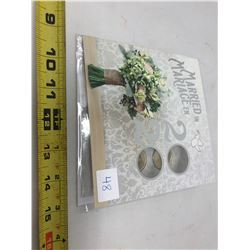 2020 Wedding Six Coin Gift Card Set