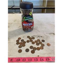 Jar of Old Pennies