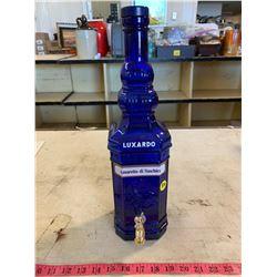 Cobalt Blue Luxardo Dispenser Bottle