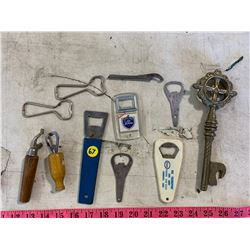 Lot of Collectable Bottle Openers