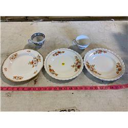 5 pc. Glassware Set (J.G Meakin + Woods Ivory ware)
