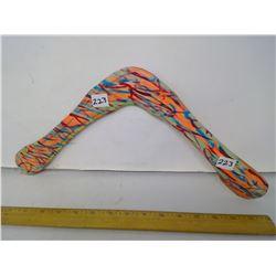 "Platypus boomerang - 35 Meter Range, Right-Handed, 17"" Span"