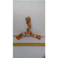 "Karom' Right-Handed, Tri-Bladed Boomerang - 25 meter range - 10"" Span"