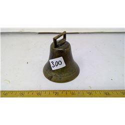 """1912 Bronze School Bell - Height: 3"""""""