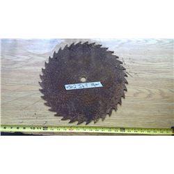 """Vintage Circular Saw Blade - 16"""" Diameter"""