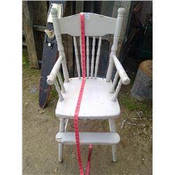 Pressed Back Highchair
