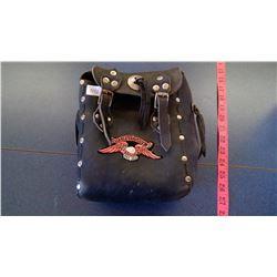 Harley Davidson Black Leather tool Kit