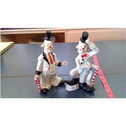 PR. Ceramic Clowns