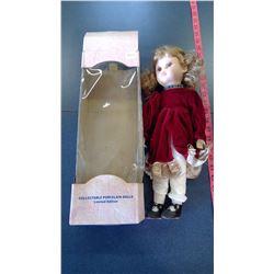Porcelain Doll M.I.B.