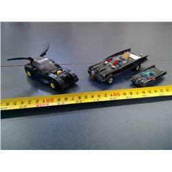 Corgi Batmobiles 1970's - 3 In Total