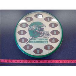 Saskatchewan Roughriders Wall Clock - 1992