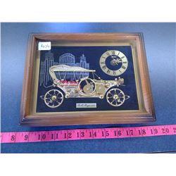 Rolls Royce 1910 Desk Clock - Steam Punk