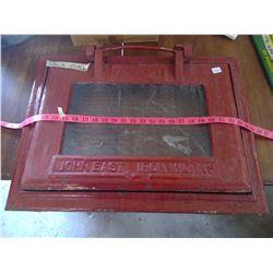 John East Iron Works - Cast Iron Coal Chute