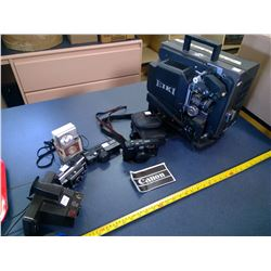 Film Projector and Misc. Cameras
