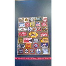 Vintage Railroad Crests/Patches