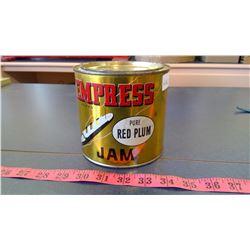 """Vintage Tin """"Empress"""" Jam Tin 48 oz."""