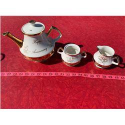 Wedding Anniversary Tea Set