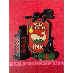 Jolly Whaler Inn Sign