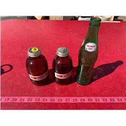 2 Schmidt Beer Bottles and America Day Bottle