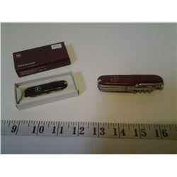 Swiss Army Knife and Swiss Army Victorinox Knife (New in Box)
