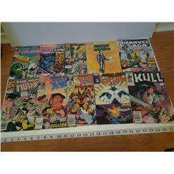 10x Marvel Comics