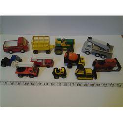 Assorted Tonka Toys