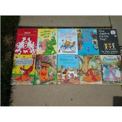 Walt Disney, Dr. Seuss, etc. (10 Books)